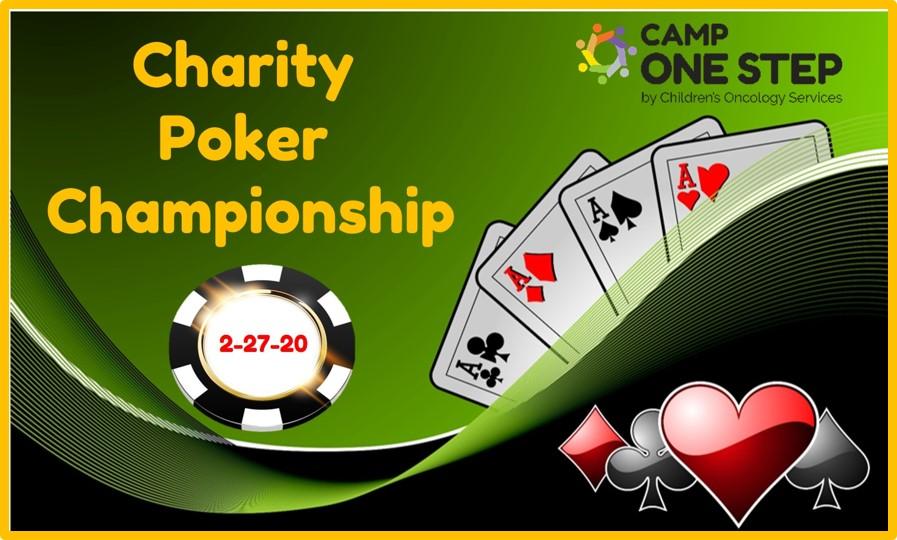 2020 Charity Poker Championship Thursday, February 27th, 2020